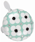 Huffy Bicycles 00251BL Bicycle Bell, Crystal Floral
