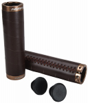 Huffy Bicycles 00282GP Bicycle Handle Grips, Lock-On, Brown Vinyl