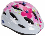 Huffy Bicycles 00346HL Bicycle Helmet, Girls' Youth, White & Pink