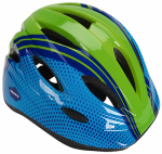 Huffy Bicycles 00347HL Bicycle Helmet, Youth, Blue & Green