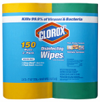 Clorox The 01599 Disinfecting Wipes, 75-Ct., 2-Pk.
