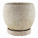 "Syndicate Home & Garden 7912-04-901 5-3/4""Slate Round Planter"