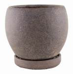 "Syndicate Home & Garden 7912-04-902 5-3/4"" BRN Round Planter"