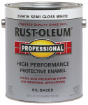Rust-Oleum 239076 GAL Semi Gloss WHT Enam Coating