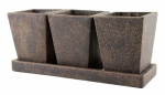 Syndicate Home & Garden 7909-02-902 5x8x7 BRN Weather Planter