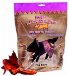 Jones Natural Chews 140 Dog Treats, Natural Pig Ear, 10-Pk.