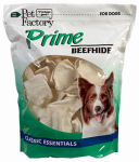 Pet Factory 28318 Dog Treats, American Beefhide Chips, 18-oz.