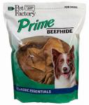 Pet Factory 28378 Dog Treats, American Beefhide Chicken-Flavor Chips, 18-oz.