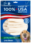 Pet Factory 78108 Dog Treats, Rawhide Chip Rolls, 18-Pk.