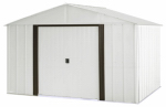 Arrow Shed AR108 Arlington Galvanized Steel Storage Shed, 10 x 8-Ft.