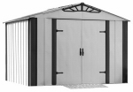 Arrow Shed DS108 Designer HDG Steel™ Storage Shed, 10 x 8-Ft.