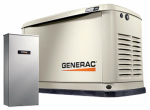 Generac Power Systems 7036 Guardian Automatic Home Standby Generator, 16/16kW, 100-Amp