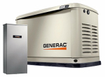 Generac Power Systems 6551 Guardian Automatic Home Standby Generator, 22/19.5kW, 200-Amp + FREE 10-Yr. Extended Warranty