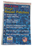 Jed Pool Tools 35-240 Pool Vinyl Repair Patch, 3 x 5-In.