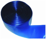 Jed Pool Tools 60-640-050 Pool Backwash Hose, Blue Transparent, 1-1/2-In. x 50-Ft.