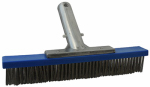 Jed Pool Tools 70-274 Pool Algae Brush, Steel Bristles, 10-In.