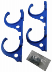 Jed Pool Tools 80-225 Pool Hooks, Plastic & Stainless Steel, 4-Pc.