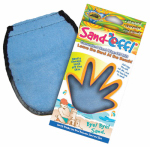 Water Sports 81110-3 Sand Off Terrycloth Mitt, Blue