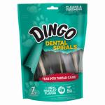 Spectrum Brands Pet DN99087PDQ Dingo 7PK Dental Spiral