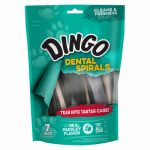 United Pet Group DN99087PDQ Dingo 7PK Dental Spiral