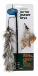 Bergan 88462 Cat Toy, Feather Teaser