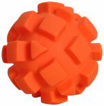 "American Distribution & Mfg 9505955 5.5"" ORG Bumpy Dog Ball"