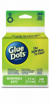 Glue Dots International 08248 Removable Adhesive, 3/8-In., 200-Ct. Roll