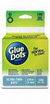 Glue Dots International 05029-300 Removable Adhesive, Ultra Thin, 300-Ct. Roll