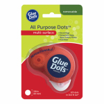 Glue Dots International 37110 Repositionable Adhesive Dispenser, 3/8-In., 200-Ct.