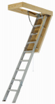 Louisville Ladder AEE2210 Attic Ladder, Pinnacle Series, Aluminum, 22.5-In.