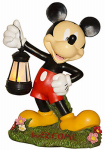 Woods International 4093 Garden Statue with Solar Lantern, Mickey, 17-In., Must Purchase in Quantities of 2