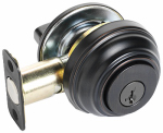 Kwikset 980 11P SMT CP K4 Signature Bronze Single Cylinder Deadbolt