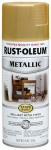 Rust-Oleum 7270830 Metallic Spray Paint, Gold Rush, 11-oz.