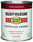 Rust-Oleum 7768502 StopRust QT Burgundy Enamel