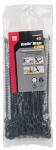 Gardner Bender 46-8BEADBK Reusable Beaded Cable Tie, Black, 8-In., 40-Pk.