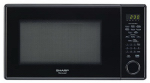 Almo Distributing Wisconsin R459YK Microwave Oven, Sensor Cook, 12-3/4-In. Turntable, Black, 1000-Watts, 1.3-Cu. Ft.