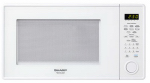 Almo Distributing Wisconsin R459YW Microwave Oven, Sensor Cook, 12-3/4-In. Turntable, White, 1000-Watts, 1.3-Cu. Ft.