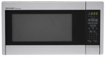 Almo Distributing Wisconsin R451ZS Microwave Oven, 12 3/4-In. Turntable, Stainless Steel, 1000-Watts, 1.3-Cu. FT.