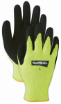 Magid Glove & Safety Mfg 305HVTL LG Yellow HiVis Knit Glove