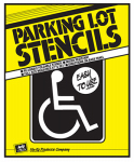 "Hy-Ko Prod PLS-10 ""Handicapped Parking Lot"" Sign, 15 x 20-In."
