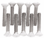 Brainerd Mfg Co/Liberty Hdw 168672 WHT Screw Pack