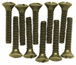 Brainerd Mfg Co/Liberty Hdw 168675 Ant Brass Screw Pack