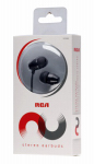 Audiovox HP159BK Stereo Ear Buds Headphones, Black