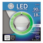 G E Lighting 22235 LED Flood Light Bulb, Outdoor, Par38, 18-Watt