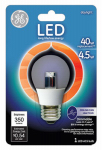 G E Lighting 23724 LED Light Bulb, Ceiling Fan, Clear, 4-Watt