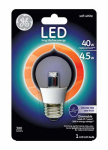G E Lighting 89987 LED Ceiling Fan Light Bulb, A15, Clear, Medium Base, 4.5-Watt