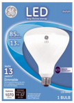 G E Lighting 20445 LED Flood Light Bulb, Indoor, BR40, White, 13-Watt