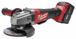 Milwaukee Electric or Electrical Tool 2780-21 M18 Fuel Grinder, Paddle Switch No-Lock Kit, 18-Volt, 4.5 to 5-In.