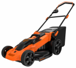 Black & Decker CM2040 Cordless Electric Lawn Mower, 40-Volt Battery, 20-In.
