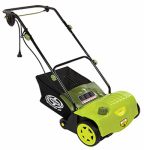 Snow Joe AJ800E Garden Dethatcher, Electric, 4600 RPM, 11-Amp, 14-In.